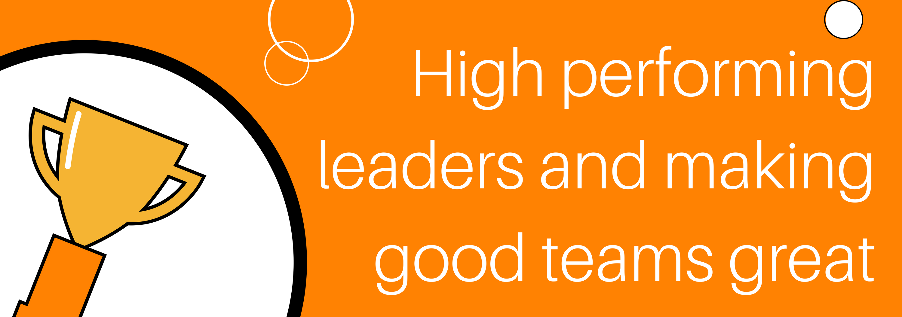 High Performing Leaders and Making Good Teams Great