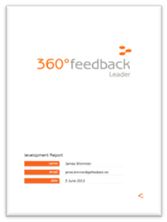 Getfeedback 360 Feedback Survey Report