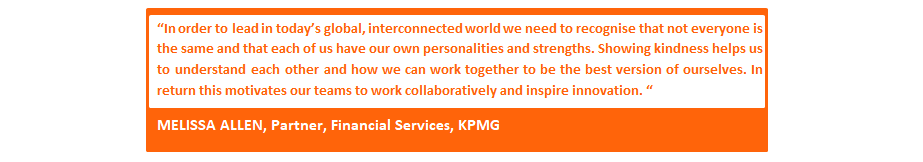 Leading Light of Kindness KPMG