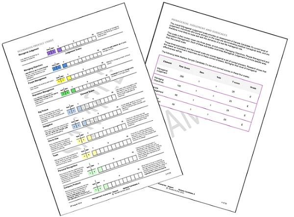 MSA Sample Report