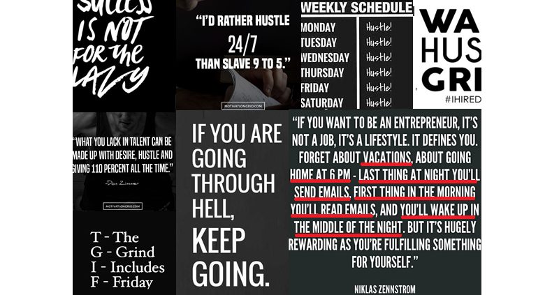 #Hustle Ethos and Motto