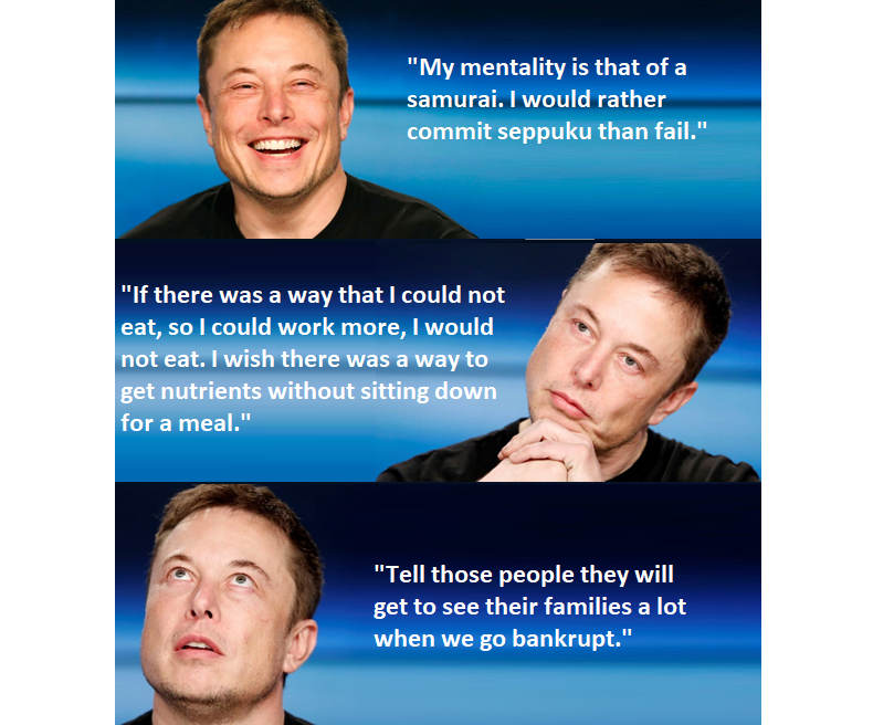 Elon Musk on being a human being