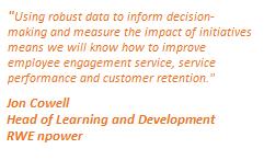 RWE npower links employee engagement to customer retention