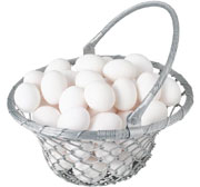 Plan for the future leadership needs of the business - image of basket of eggs